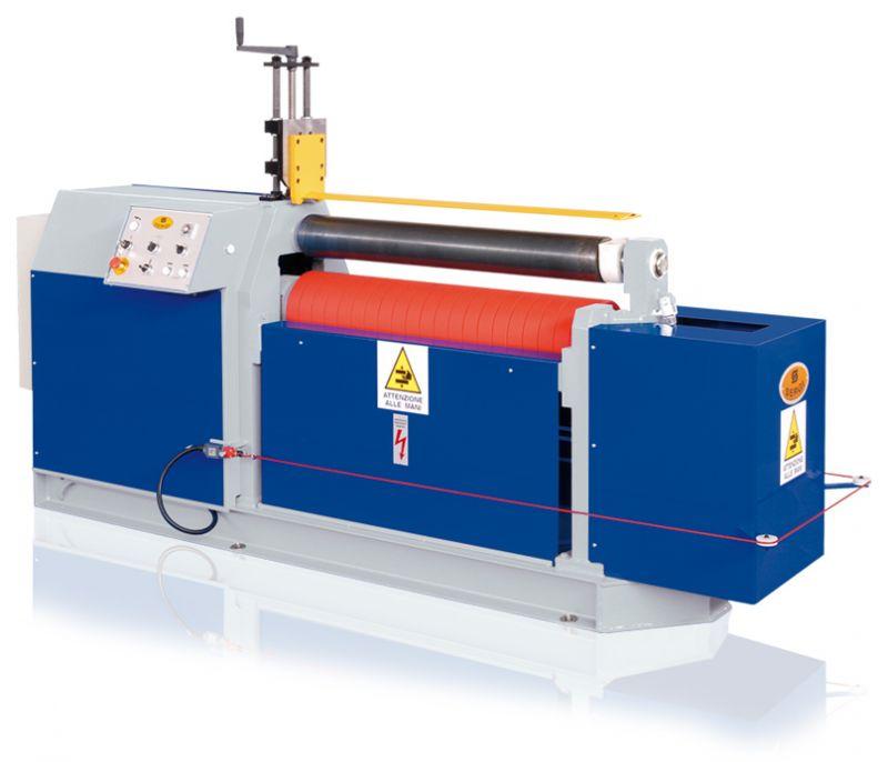 Sheet Bending Machine : Hydraulic plate bending machine roller