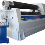 hydraulic plate bending-3 roller