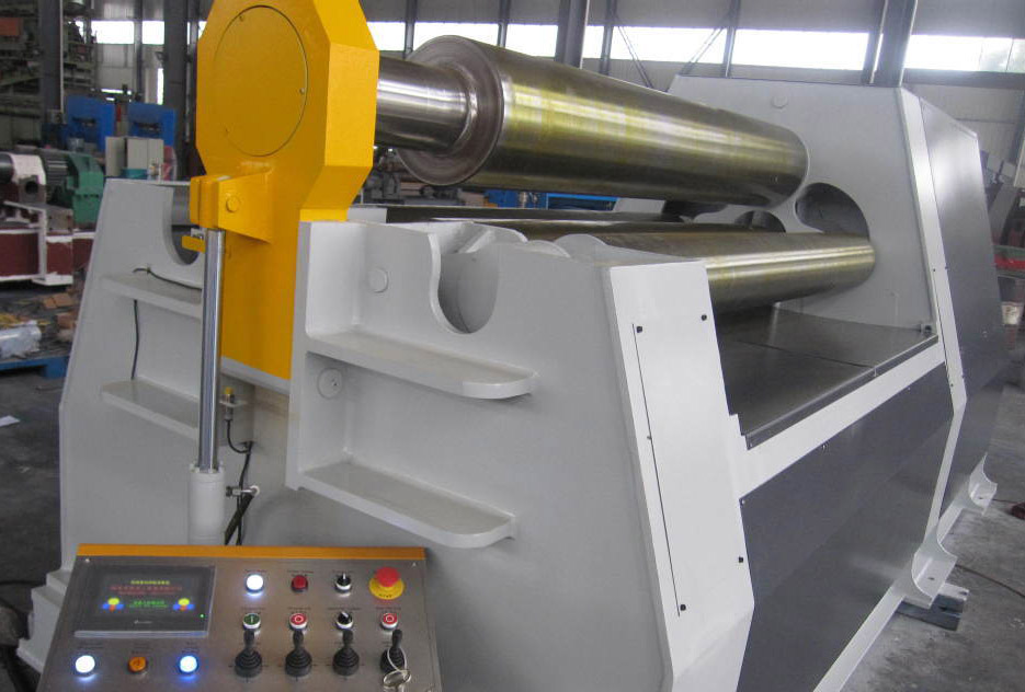 Automatic Plate Rolling Machine