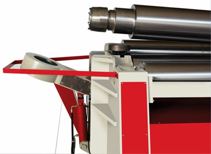4 roller hydraulic plate bending machine