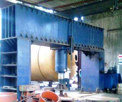 hydraulic dish end press