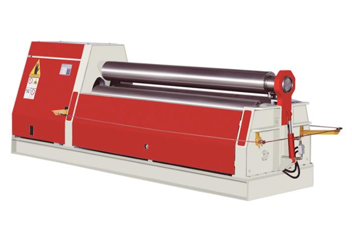 NC hydraulic plate rolling machine